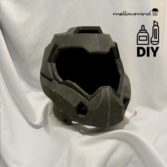 DIY DOOM4 helmet template for EVA foam