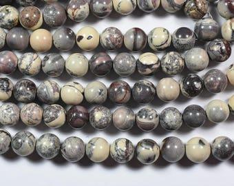 30% Dis Beautiful AAAA 15 Inch Strand 10mm Natural Artistic Jasper Smooth Round Beads Strand/Jasper Round Beads(0163)
