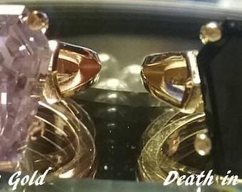Coffin Gems® - Add On - 10K GOLD SETTING