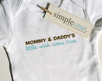 little wish come true baby bodysuit