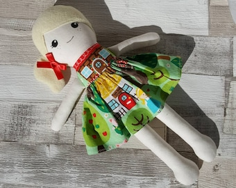Children's dolly~rag doll~cloth dolls~ce marked ~ doll ~ best friends ~ forever friends ~ kids pretend play toy fabric dolly