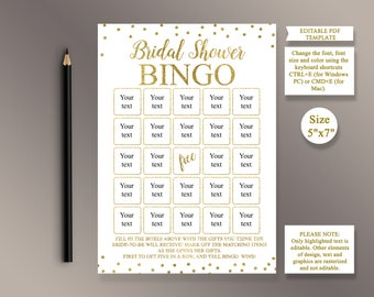 EDITABLE BINGO, Bridal Shower Bingo Cards, Bridal Bingo, Bridal Shower Games Printable, Blank Bingo, Bridal Shower ideas, Shower Activity