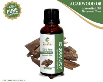 100% Pure Natural Agarwood Essential Oil - Sheer Essence - Therapeutic Grade Agarwood Oil 5ml To 500ml Free Shipping Worldwide