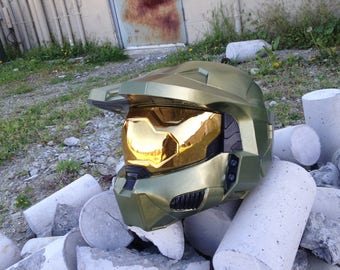 Halo 3 Mark VI Master Chief helmet