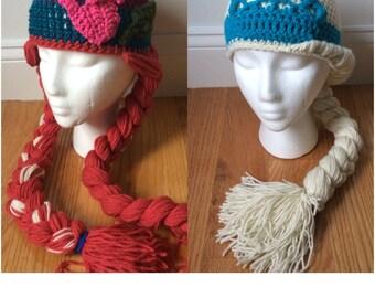 Frozen Inspired Hats