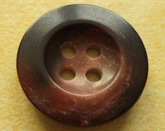 10 buttons 18mm dark brown (1323) Brown