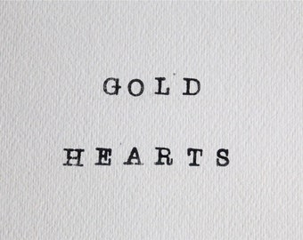ADDITIONAL gold filled hearts for your necklace or bracelet