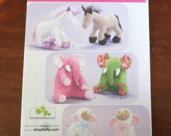 Sweet Baby/Kids Stuffed Animal Sewing Pattern