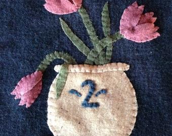 SpringGlaze Wool Applique Pattern
