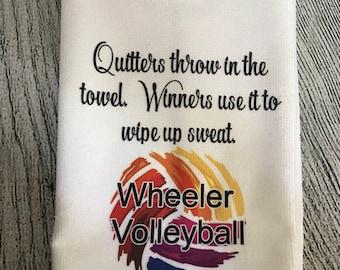 Customizable Sports Sweat Towel