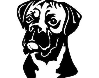Digi-tizers Boxer Dog Head (SVG Studio V3 JPG)