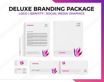 Branding Package, Custom Branding, Business Branding, Branding kit, Branding Logo, Marketing Package, Brand Design, Stationery Set, brand