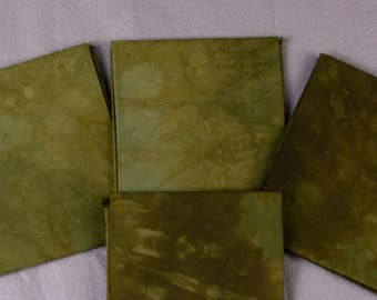 Forest Oak Hand-Dyed Quilting Cotton Fat Quarter