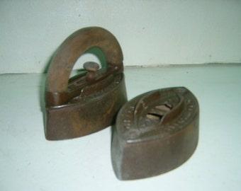sad irons and handle