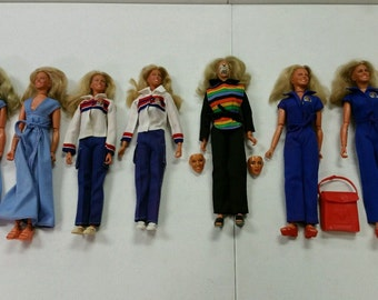 Kenner The Bionic Woman Series Jamie Sommers Doll 1st edition You choose your style!!!!!!!!!!!!!!