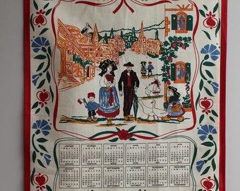 "Advertising Tea Towels, ""Alsace"". Calendar year 2000"
