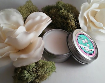 Green Clover Solid Perfume - Solid Perfume - Jasmine Perfume - Fairy Tale Scent - Meadow Scent - Grass Fragrance - Wisteria Scent - Spring
