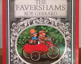 The Favershams - Roy Gerrard - First Edition Childrens's Book, Kids Books, Picture Books, England, Gloucestershire, Family