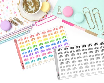 HUMP DAY Paper Planner Stickers!