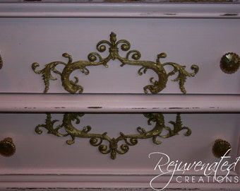 DIY shabby chic appliques furniture mouldings architectural appliques onlays upcycled furniture