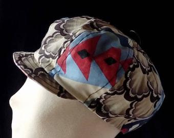 Blue newsboy cap St. Jacques