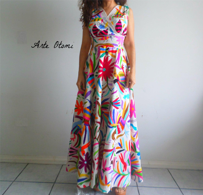 Sofort lieferbar Otomi Hochzeit Kleid Multicolor Otomi