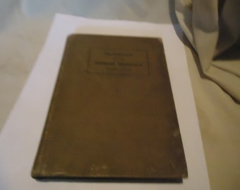 Antique 1915 Classics for the Kansas Schools Eighth Grade Hardback Book, collectable
