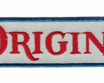 Original Blue Ribbon Pabst Beer Decorative Accessory Iron-on Patch