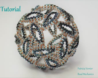 Tutorial for Whirlwind beaded icosahedron
