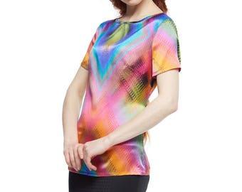 Silk Blouse 003 Women's clothing/Stylish Blouse