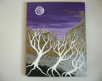 Esoteric - Original Acrylic Painting - Stretched Canvas - 16 x 20