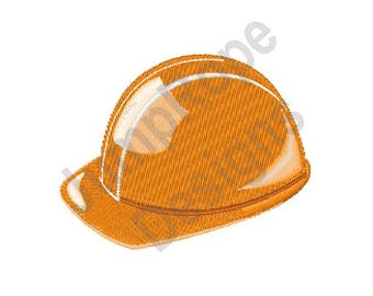 Construction Hat - Machine Embroidery Design