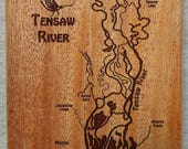 TENSAW RIVER Map Fly Box ...
