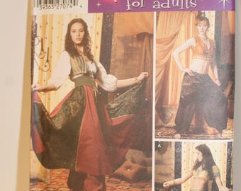 Simplicity 5359 Belly Dancing Costume Misses/Plus size