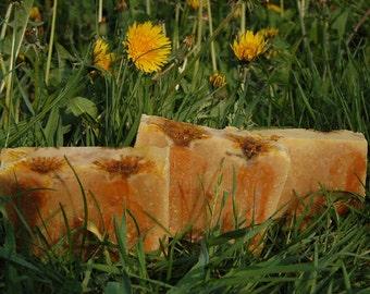 Dandelion Honey Soap