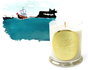Whitby - Handcrafted Old Glow Candle