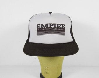 Vintage Geology Snapback Hat Empire Soils Investigations INC Brim Cap