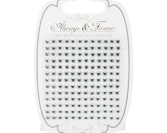 Craft Consortium Always and Forever  Large Adhesive Rhinestones