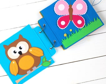 Quiet Book - Busy Book - Activity Book - First Book - Educational Games - Felt Quiet Book - Quiet Book Toddler - Quiet book pages - Felt Toy