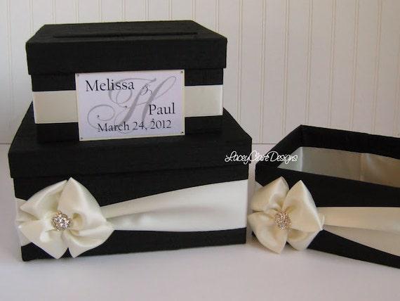 Wedding Gift Box Holder: Wedding Card Box Money Holder Gift Card Box Bridal Shower