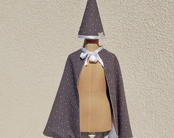 Wizard hat and Cape