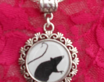 Emilie Autumn Rat Necklace