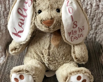 Customized Easter Bunny with name and year