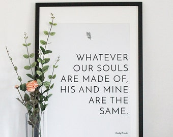 Our Souls Print