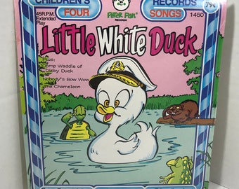 "Little White Duck vintage record SEALED Peter Pan Records 7"" vinyl"