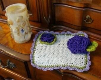 Crochet Organic Washcloth and Scrubbie Pattern ONLY pdf 290