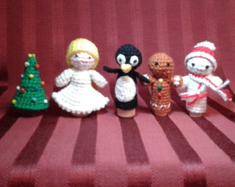 Finger puppets, Holiday Finger Puppets