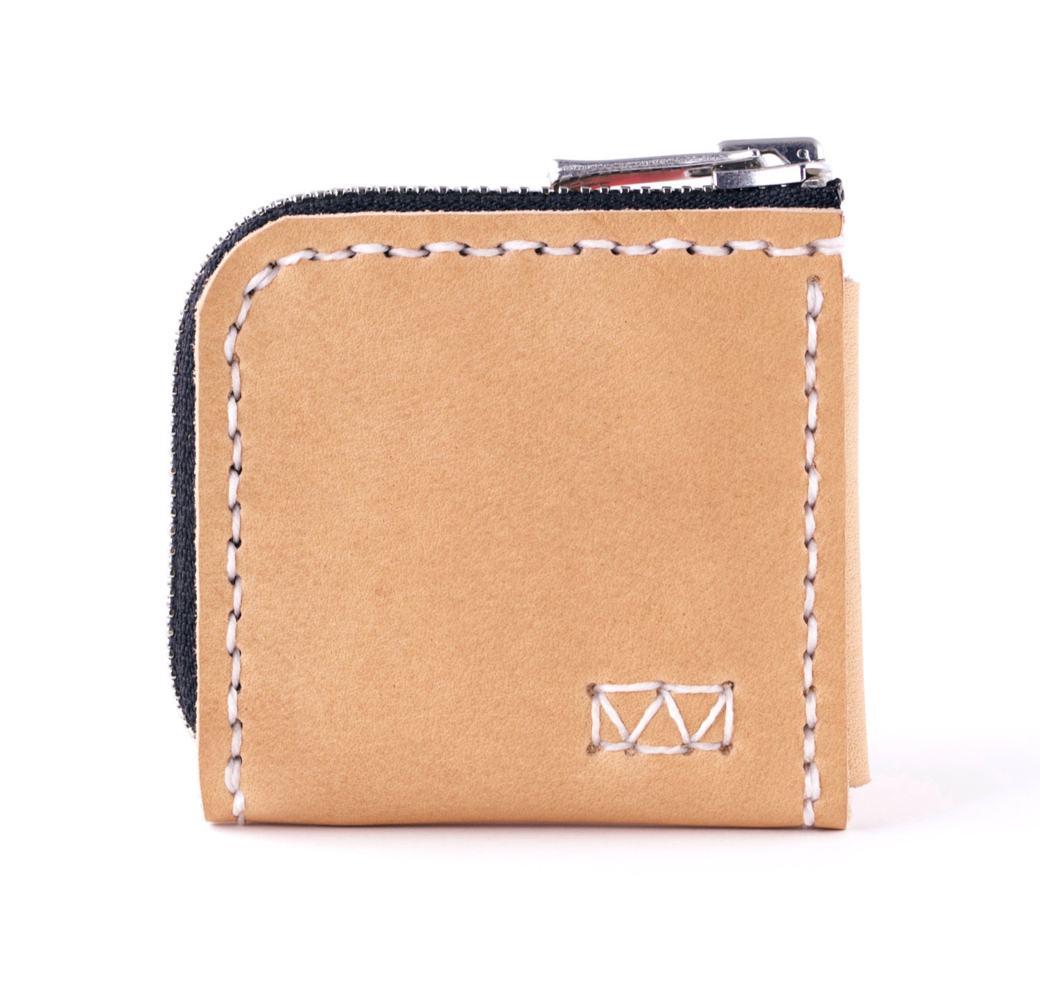Square Business Card Holder Square Leather Business Card Zip
