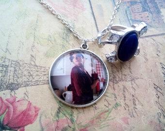 Elena Gilbert necklace, vampire diaries jewelry