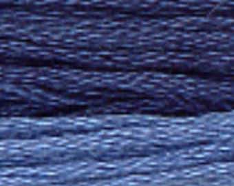 PRESIDENTIAL BLUE 0260 Gentle Art GAST hand-dyed embroidery floss cross stitch thread at thecottageneedle.com